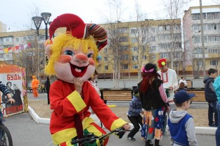 В Ноябрьске прошли праздничные мероприятия в рамках Дня защиты детей