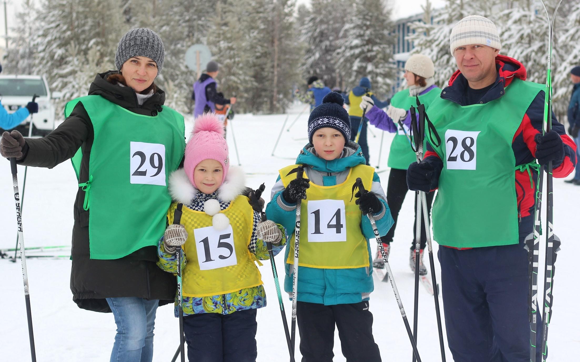 Здоровый и весёлый выходной провели семьи Вынгапуровского