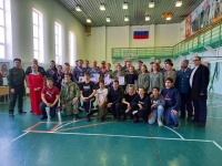 В Ноябрьске кадеты и бойцы Росгвардии померялись силами в меткости